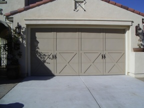 DR Horton Steelhouse Ranchero  Garage Door