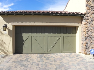 Keystone Homes  Garage Door