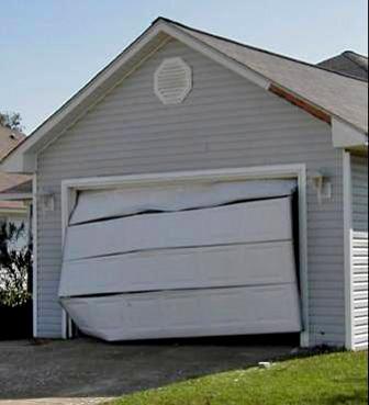 Garage Door Break Out!