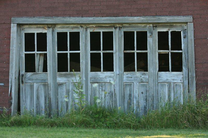 Old Garage Doors : Old garage door the we