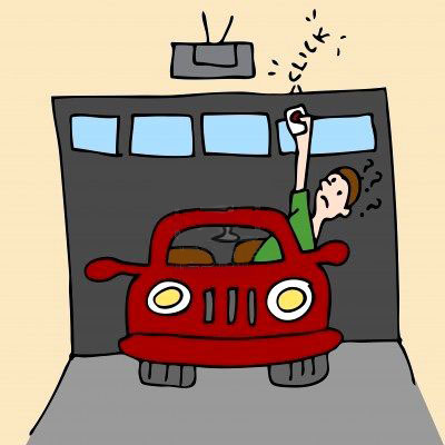 garage door cartoon | The Garage Door Weblog