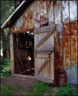 Old Carriage House Door