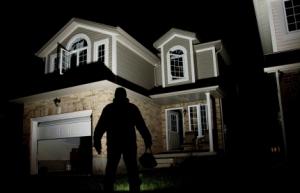 garage door burglary - first united door